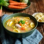 Hot & Sour Chicken Soup (G,L)