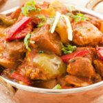 Chicken Vindaloo (G,L, tulinen/spicy)